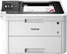 Brother HL-L3270CDW - Impresora láser color (Wifi, USB 2.0, 256 MB, 800 MHz, 24 ppm, 430 W) blanco