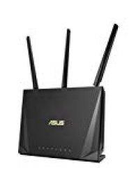 ASUS RT-AC85P - Router Doble-Banda AC2400 Gigabit (Triple VLAN, MU-MIMO, USB 3.1, Modo Punto Acceso/Repetidor)