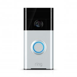 Ring Video Doorbell - Videoportero 720p HD con Audio bidireccional, detección de Movimiento y conexión wi-fi, Color Níquel Satinadi