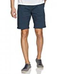 Scotch & Soda Classic Cotton/Elastane Chino Short Pantalones Cortos para Hombre