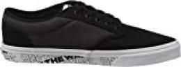 Vans Atwood Canvas, Zapatillas para Hombre, Multicolor ((Otw) Black/White Lrn), 38.5 EU