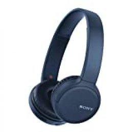 Sony WH-CH510 - ¿Muchas Llamadas y videollamadas Desde casa? Prueba Nuestros Auriculares de Diadema Bluetooth con hasta 35h de autonomía, Azul