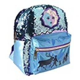 Frozen Casual Lentejuelas Elsa 2 Mochila Tiempo Libre y Sportwear Infantil, Juventud Unisex, Multicolor (Multicolor), Talla Única