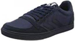 Hummel Slimmer Stadil Tonal Low, Zapatillas para Hombre, Azul (Dress Blue 8628), 36 EU