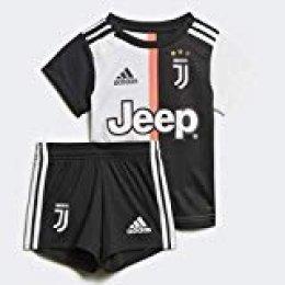 adidas Juventus Turin Mini Home Baby Equipación, Unisex Bebé, Multicolor (Black/White), 80 (9/12 Meses)