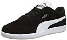 PUMA ICRA Trainer SD, Zapatillas para Hombre, Negro (Black/White), 45 EU