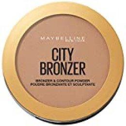 Maybelline New York City Bronzer Polvos Bronceadores Mate para Pieles Oscuras, Tono 300 Deep Cool