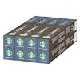 Starbucks Espresso Roast de NESPRESSO Cápsulas de café de tostado intenso, 8 x tubo de 10unidades