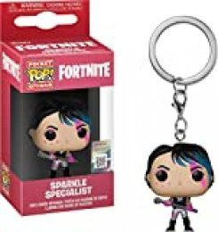 LAST LEVEL- Pocket Llavero Pop FORTNITE: Sparkle Specialist, Multicolor (Funko 1)