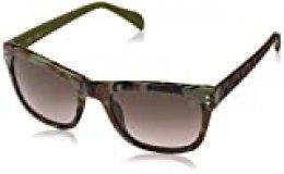 TOUS STO829-5207D7 Gafas de sol, Green/Shiny Brown, 52 para Mujer