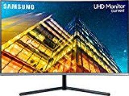 "Samsung U32R594CWU Pantalla para PC 80 cm (31.5"") 4K Ultra HD LCD Curva Gris - Monitor (80 cm (31.5""), 3840 x 2160 Pixeles, 4K Ultra HD, LCD, 4 ms, Gris)"
