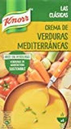 Knorr - Crema Verduras Mediterráneas 1000 ml - Pack de 4 (Total 4000 ml)