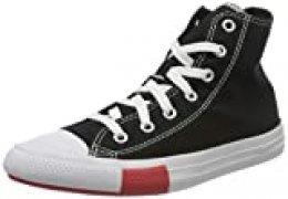 Converse 366988c_33,5, Zapatos de Tenis Unisex Adulto, Black, 33.5 EU