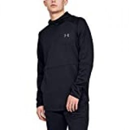 Under Armour Mk1 Warmup Po Hood Sudadera, Hombre, Negro, MD