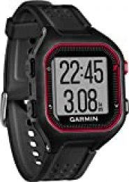 Garmin Forerunner 25 Reloj Deportivo, Negro/Rojo, L