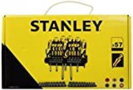 STANLEY STHT0-62143 - Set de 57 piezas, destornilladores y puntas de destornillador
