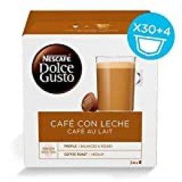 Nescafé Dolce Gusto Capsulas de Café, Cafe Au Lait 34 Unidades 340 g