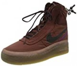 Nike W AF1 Shell, Zapatillas de básquetbol para Mujer, Dark Pony Burgundy Ash Desert Dust, 35.5 EU