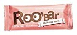 Roobar Barrita Energética Mora Blanca Y Vainilla 100% Ecológica Con Superalimentos - Vegana - Caja 20 X 30G
