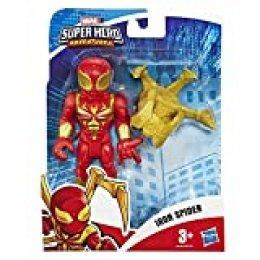 Hasbro Playskool - Figura de Los Vengadores de Mega Mighties Mini Marvel Super Hero Adventures-Iron Spider (12,5 cm), Multicolor, E6259ES0