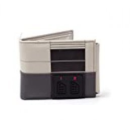 Nintendo NINTENDO NES Console Bi-Fold Wallet, Multi-Colour (MW270709NTN) Monedero, 16 cm, Gris (Grey)