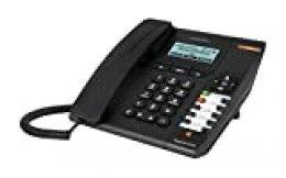 Alcatel Temporis IP150 - Teléfono IP (Negro, Terminal con conexión por Cable, Azul, RJ-9, 100 Mbit/s, Escritorio/Pared)