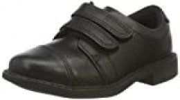 Clarks Scala Skye T, Mocasines para Niños, Negro (Black Leather Black Leather), 26 EU