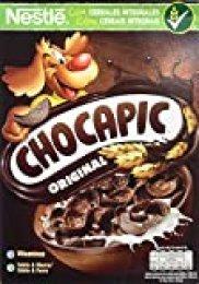 Cereales Nestlé Chocapic - Cereales de trigo y maíz tostados con chocolate - 14 paquetes de cereales de 375g