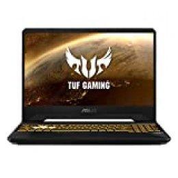 "ASUS TUF Gaming FX505DT-BQ051 - Ordenador portátil Gaming 15.6"" FullHD (Ryzen 5 3550H, 8 GB RAM, 512 GB SSD, GeForce GTX 1650-4GB, Sin sistema operativo) negro sigilo - Teclado QWERTY Español"