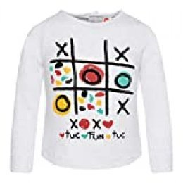 Tuc Tuc Camiseta Punto Media NIÑA, Gris (Gris 9), 3 años (Tamaño del Fabricante:3A) para Niñas
