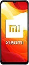 "Xiaomi Mi 10 Lite (Pantalla AMOLED 6.57"", TrueColor, 6GB+64GB, Camara de 48MP, Snapdragon 765G, 5G, 4160mah con carga 20W, Android 10) Gris"