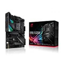 ASUS ROG Strix X570-F Gaming - Placa Base Gaming AMD AM4 X570 ATX con PCIe 4.0, Aura Sync RGB led, Intel Gigabit Ethernet, Dual M.2 con disipadores, SATA 6Gb/s, USB 3.2 Gen 2, soporta Ryzen 3000