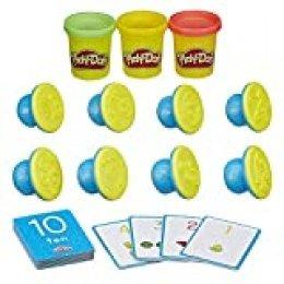 Play-Doh Juego de plastilina y Formas,, B34041020,'Shape and Learn', para Aprender Las Formas y los Colores