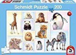 Schmidt Spiele- Puzzle Infantil (200 Piezas), diseño de niños de la Naturaleza (SCH56270)