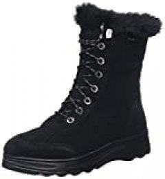 Geox D HOSMOS B ABX B, Botas de Nieve para Mujer, Negro (Black C9999), 41 EU