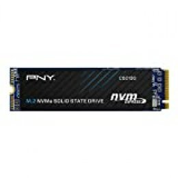 PNY CS2130 M.2 NVMe Unidad de Estado Sólido Interna (SSD) 500GB - hasta 3500 MB/s, Color Negro