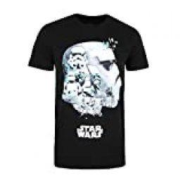Star Wars Troopers Camiseta, Negro (Black Blk), Small (Talla del Fabricante: Small) para Hombre