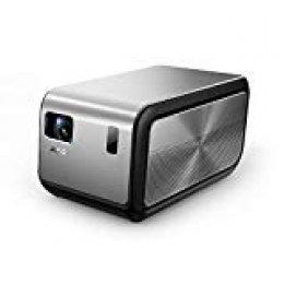 JMGO - J6S 1080P 4K Proyector con Android, 1100 ANSI (7000 lúmenes) Proyector de Cine en Casa