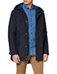 JACK & JONES Jorclan Parka, Azul Navy Blazer, Medium para Hombre
