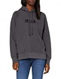 Levi's Graphic Sport Capucha, Gris (Hoodie Box Taba Forged Iron 0164), L para Mujer