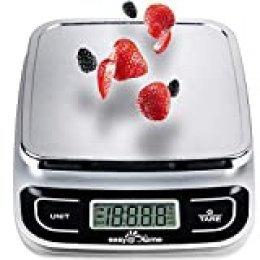 Báscula de Cocina Digital 5 kg/11 lbs, Easy@Home Báscula del alimento/Báscula de la cocina con una gran precisión 1g, Digital multifunción Báscula de medición