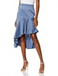 New Look Satin Ruffle Falda para Mujer