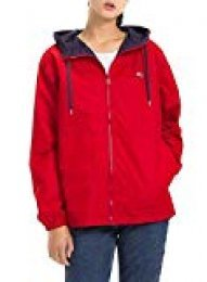 Tommy Jeans Mujer Regular Windbreaker Chaqueta Manga Larga