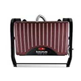 Taurus Toast & Go - Sandwichera (700 W, superficie antiadherente de 23 x 14.5 cm)