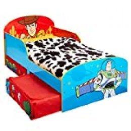 Disney Toy Story 4 - Cama Infantil para niños pequeños con cajón Inferior, 2