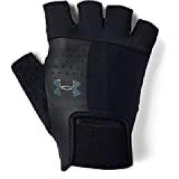 Under Armour UA Men's Training Glove Hombre, Guantes sin Dedos, Negro (Black/Pitch Gray 001), M