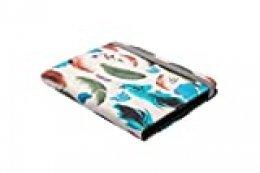 Silver HT - Funda para eReader Libro electrónico eBook de 6 Pulgadas Compatible con Kindle, BQ, Sony, Woxter, SPC - Modelo Feathers