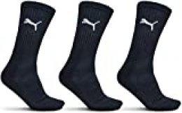 PUMA 7312 Running Socks, azul marino, 35/38 Men's