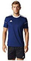 adidas Squad 17 JSY SS Camisetapara Hombre, Azul (Dark Blue/White), XL