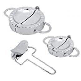 iFCOW Dumpling Maker y cortador de acero inoxidable 304, molde manual para albóndigas para hacer moldes para utensilios de cocina
